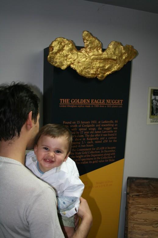 Pepita de ouro gigante!